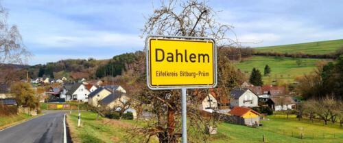 Ortseingang Dahlem